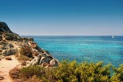 Córsega - a ilha da beleza, França foto de stock royalty free