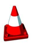 CÔNE, cône du trafic Photos libres de droits