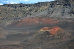 Cônes de cendre de Haleakala, Maui photo libre de droits