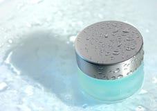 Côté avec le gel transparent Image stock