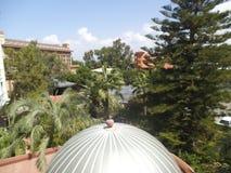 Côté d'Antalya d'hôtel de Hane images stock