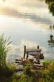 Côté de fleuve Image stock