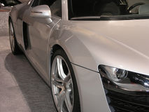 Côté de luxe 1 de voiture de sport Image libre de droits