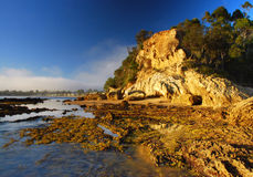 Côté de mer Photographie stock libre de droits