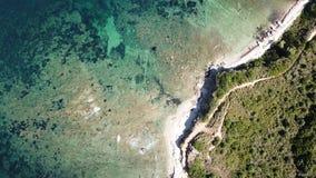 Côté de mer en Corse, France photos stock