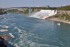Côté de Niagara Falls - USA Photos stock