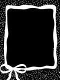 Côté de papier noir Photographie stock libre de droits
