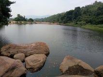 Côté de rivière image libre de droits