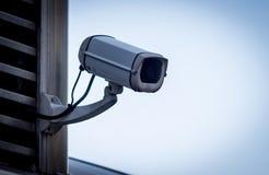 Côté de vidéo surveillance photographie stock libre de droits