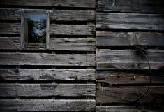 Côté de vieille grange Image libre de droits