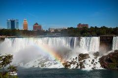 Côté des USA de chutes du Niagara photos libres de droits