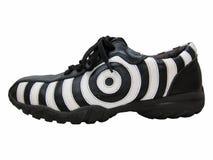 Côté droit de chaussure de zèbre Image libre de droits
