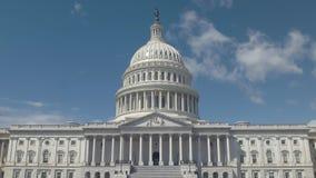 Côté est de nous bâtiment de capitol un matin de ressort à Washington images libres de droits