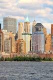 Côté Ouest de Manhattan Images libres de droits