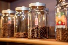 Côtés avec du café Images stock