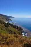 Côte californienne Images libres de droits