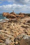Côte d'île de Bréhat Photographie stock libre de droits