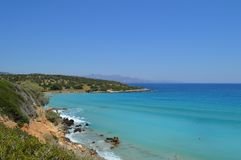 C?te d'?le de Gozo malte images stock