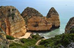 Côte d'Algarve Photographie stock libre de droits