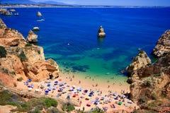 Côte d'Algarve Photos stock