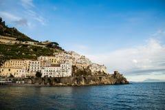 Côte d'Amalfi Photo libre de droits