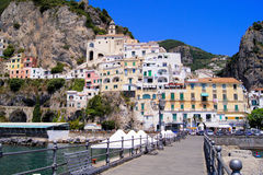Côte d'Amalfi Photo stock