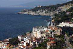 Côte d'Amalfi Photographie stock libre de droits