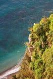 côte d'Amalfi images stock