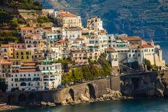 Côte d'Amalfi - Salerno, Campanie, Italie, l'Europe photo stock