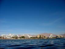 Côte d'Eilat Image stock