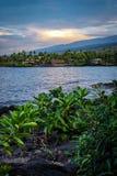 Côte 2 d'Hawaï Images libres de droits