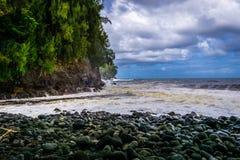 Côte 4 d'Hawaï Photo stock