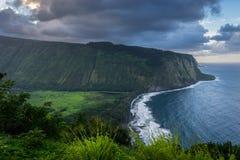 Côte 5 d'Hawaï Photographie stock libre de droits