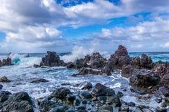 Côte 6 d'Hawaï Photos stock