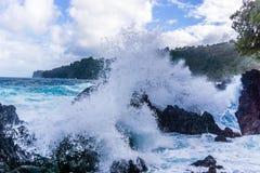 Côte 7 d'Hawaï Images libres de droits