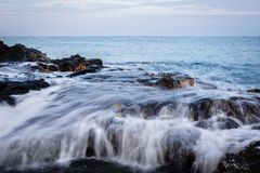 Côte 9 d'Hawaï Photos libres de droits
