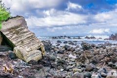 Côte 10 d'Hawaï Images stock
