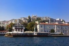 Côte d'Istanbul Image libre de droits