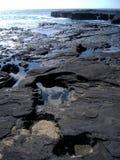 Côte dans des îles de Galapagos Image libre de droits
