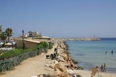 Côte dans Monastir, Tunisie en Afrique image libre de droits