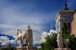 Côte de Capitoline à Rome Photo stock