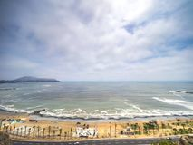 Côte de Costa Verde de La Image stock