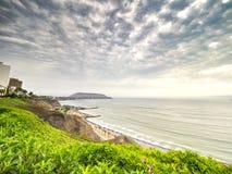 Côte de Costa Verde de La Image libre de droits