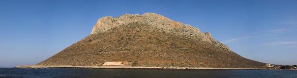 Côte de Crète photographie stock libre de droits