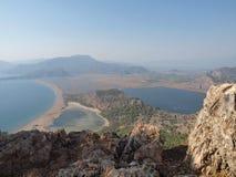 Côte de Dalyan, Turquie, horizontal Photographie stock