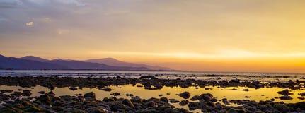 Côte de Dili, Timor-Leste Photographie stock libre de droits