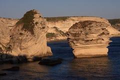 Côte de falaise Photos stock
