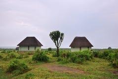 Côte de George de l'Ouganda, lac, Afrique photos stock