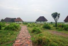 Côte de George de l'Ouganda, lac, Afrique images libres de droits