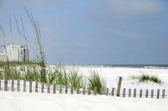 Côte de Golfe de l'Alabama Image libre de droits